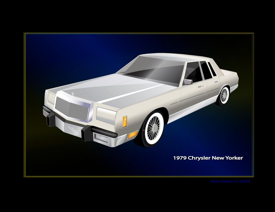 Chrysler New Yorker grfx backup C