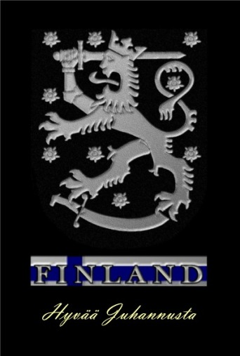 Finland Heraldry for shirt Juhannus