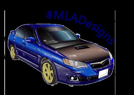 MLADesigns Legacy Subaru